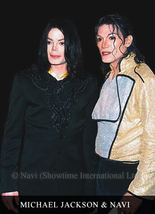 Navi with Michael Jackson